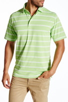 Peter Millar Poffo Stripe Stretch Mesh Polo