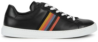 Paul Smith Hansen black leather sneakers