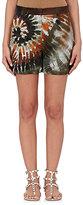 Valentino Women's Tie-Dye Stretch-Cotton Shorts