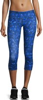 Alo Yoga Airbrush Capri Leggings, Kaleidoscope Print