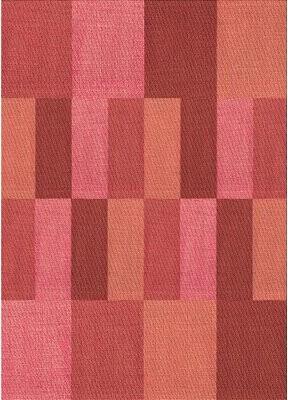 Sheridan East Urban Home Geometric Wool Red Area Rug East Urban Home Rug Size: Rectangle 5' x 7'
