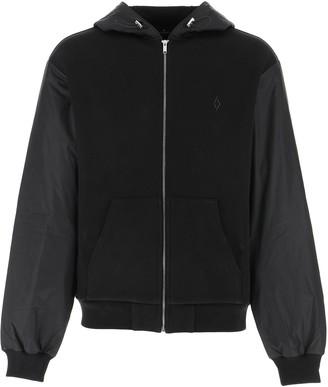 Marcelo Burlon County of Milan Zipped Relax Fit Jacket