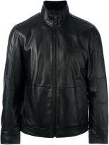 Michael Kors zipped leather jacket