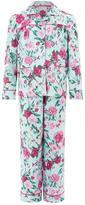 Monsoon Florencia Rose Print Flannel Pyjamas