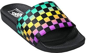 Vans Slide-On ((VTCS) Rainbow/Black) Women's Sandals