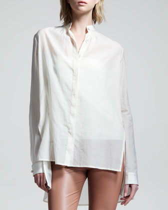 The Row Voile Blouse