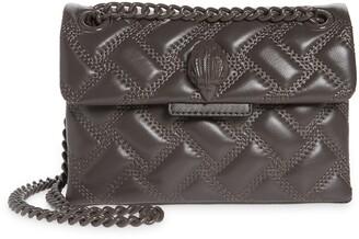 Kurt Geiger Kensington Leather Mini Crossbody Bag