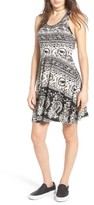 Angie Women's Print Racerback Dress