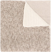 Fabiana Filippi contrast panel scarf - women - Silk/Cashmere/Merino - One Size