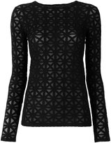 Gareth Pugh panelled top
