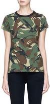Rag & Bone Camouflage print T-shirt