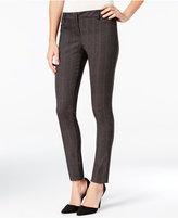 Amy Byer Juniors' Plaid Skinny Pants