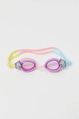 H&M Appliqued Swim Goggles - Pink