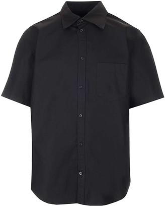 Balenciaga Logo Collared Short Sleeve Shirt