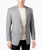 Andrew Marc Men's Classic-Fit Light Gray Windowpane Sport Coat