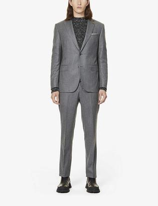 Pal Zileri Single-breasted regular-fit wool suit