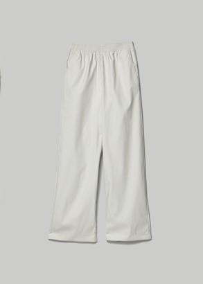 MM6 MAISON MARGIELA Women's Wide Leg Trouser Pants in White Size 40