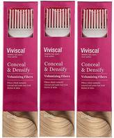 Viviscal Conceal & Densify Volumizing Hair Fibres - Blonde (3 pack)