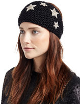 Jennifer Behr Galaxy Star Alpaca Kerchief, Black