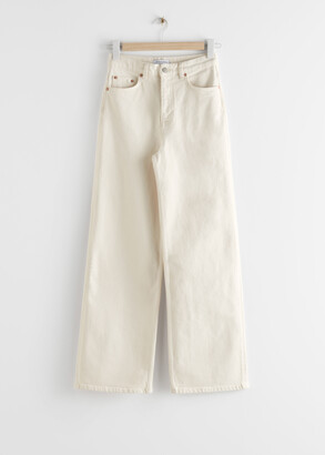 And other stories Relaxed High Rise Jeans