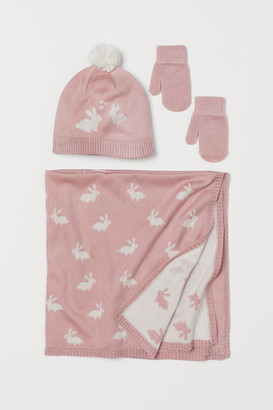 H&M 3-piece Gift Set - Pink