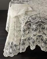 """Chantilly Lace Tablecloth, 90"""" Round"""