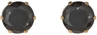 9 Carat Yellow Gold 6mm Cubic Zirconia Stud Earrings