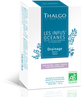 Thalgo Les Infus'Oceanes Bio Draining Organic Infusion - 20 Sachets