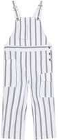 Thumbnail for your product : BRUNELLO CUCINELLI KIDS Exclusive to Mytheresa a Striped cotton overalls