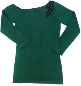 Graciela Huam Maxima Drop Shoulder Top - Green