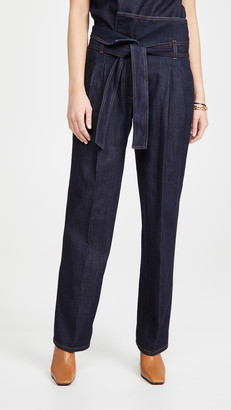 Stella McCartney Harley Denim Trousers Dark Indigo Wash