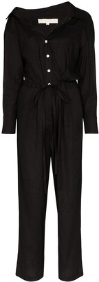 By Any Other Name Off-The-Shoulder Jumpsuit