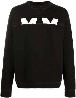Maison Margiela M-logo cotton jumper