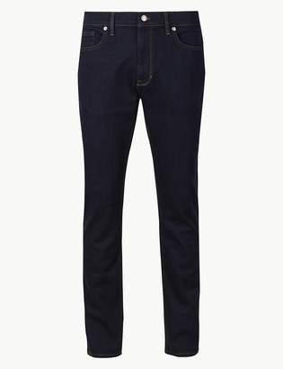M&S CollectionMarks and Spencer Shorter Length Slim Fit Stretch Jeans