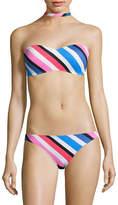 Design Lab Lord & Taylor Choker Bandeau Bikini Top
