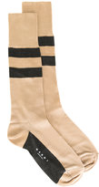 Marni striped socks - women - Silk/Nylon - M