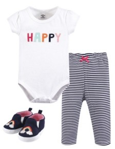 Little Treasure Baby Girl Bodysuit, Pants and Pair of Shoes