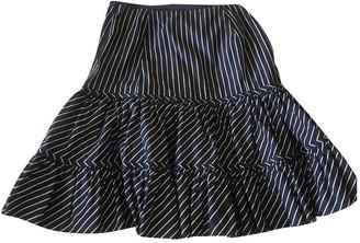 Lauren Ralph Lauren Blue Cotton Skirt for Women Vintage