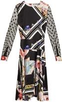 Preen by Thornton Bregazzi Erin floral-print silk dress