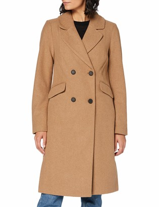 Only Women's ONLLOUIE Life Wool Coat CC OTW