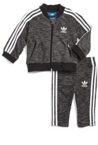 adidas Infant Boy's Superstar Track Jacket & Pants Set