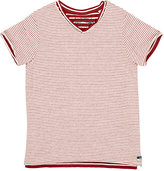 Scotch Shrunk LAYERED STRIPED T-SHIRT