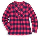 Vineyard Vines Toddler's, Little Girl's & Girl's Buffalo Check Top