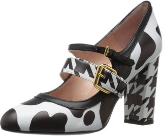 Boutique Moschino Women's Patent Leather Mary Jane Dress Pump
