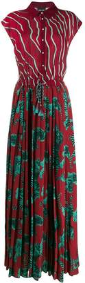 Just Cavalli pleated shirt dress