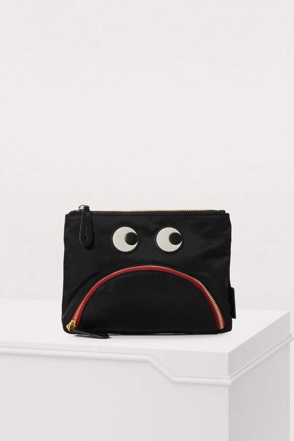 Anya Hindmarch Gloomy Eyes pouch