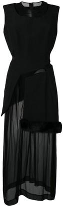 Comme Des Garçons Pre Owned 1997's Layered Sheer Dress