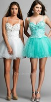 Dave and Johnny Pretty Petal Prom Dress