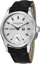 Frederique Constant Men's FC-435S6B6 Vintage Rally Black Leather Strap Watch