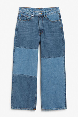 Monki Mozik block jeans